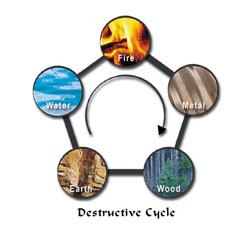 Five Elements Controlling Cycle